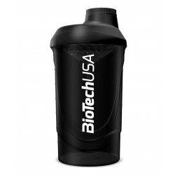 BioTechUSA Wave Shaker Black Smoke (Fekete füst) 600ml