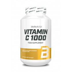 BioTechUSA Vitamin C 1000 With Bioflavonoids an Rose Hips 250 tab.