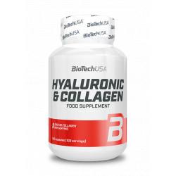 BioTechUSA Hyaluronic & Collagen 100 caps.